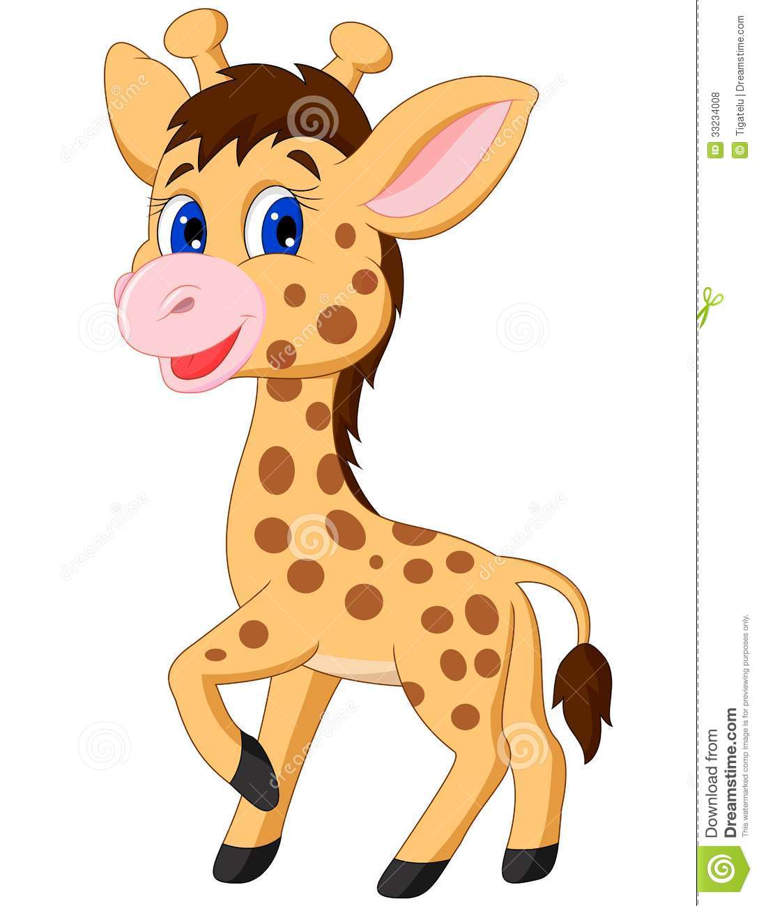 Cute Baby Giraffe Cute Baby Giraffe Cartoon Clip Art Images