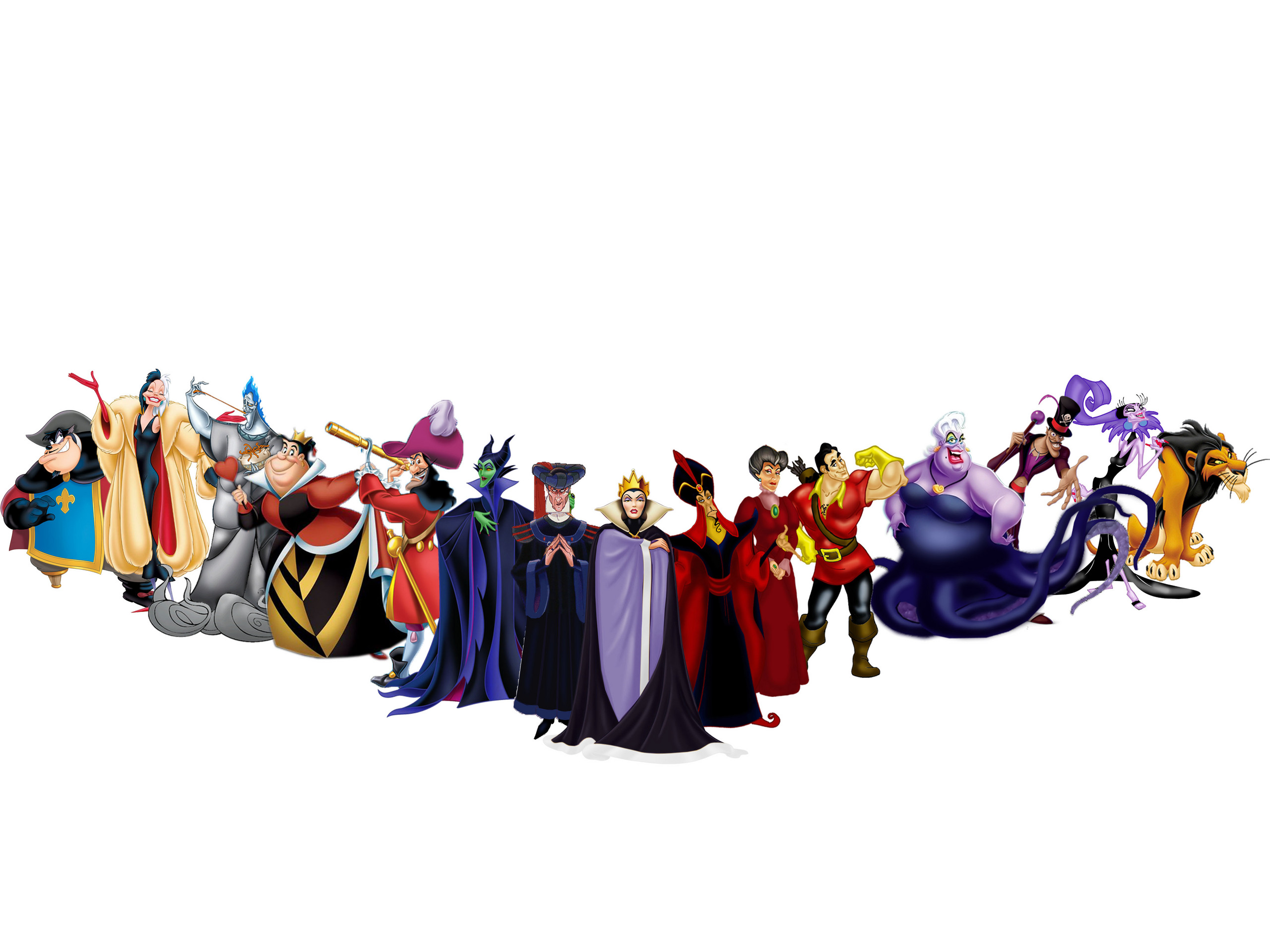 Disney Villains Line Up   Disney Villains Photo  30603523    Fanpop