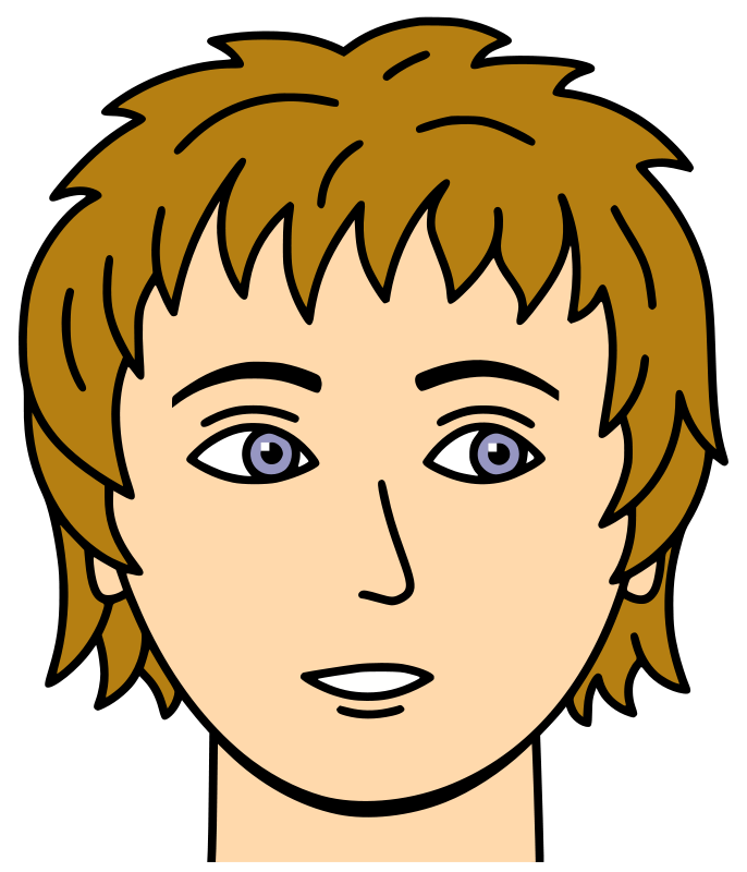 Woman Face Clipart - Clipart Kid
