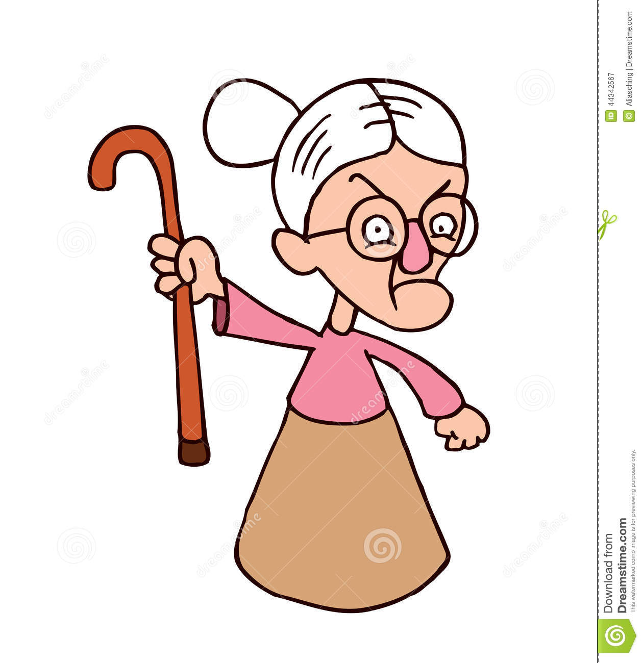 Mean Old Lady Clipart   Cliparthut   Free Clipart