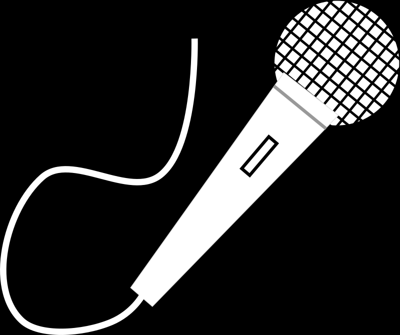 Microphone Clipart Clipart Suggest