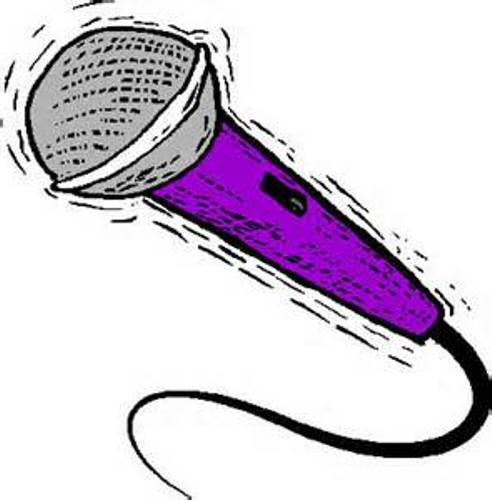 Microphone Clipart   Fashionnow Website