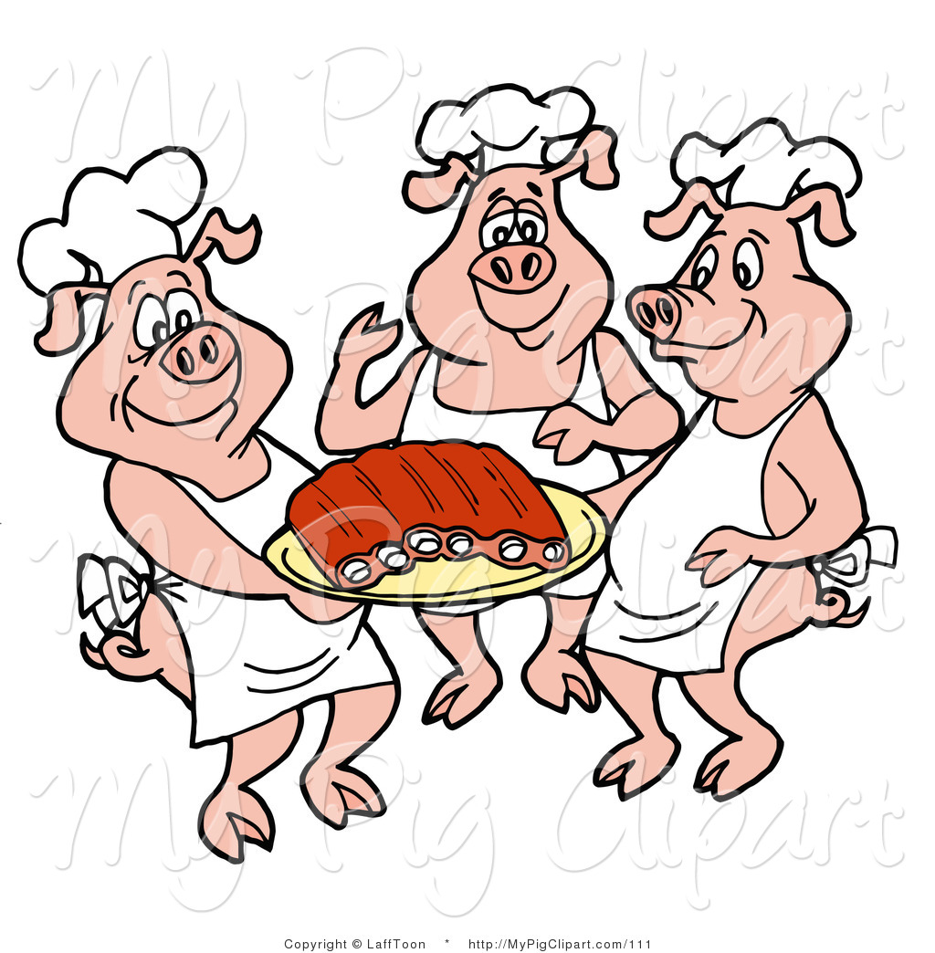 Pig Chef Hat Clipart