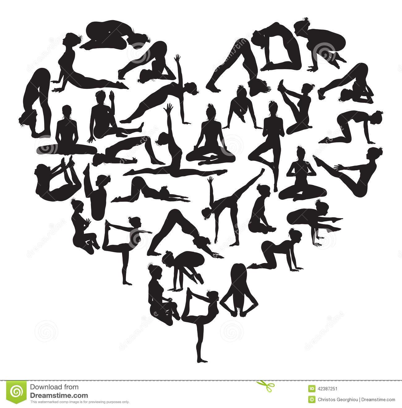 free yoga symbols clip art - photo #22