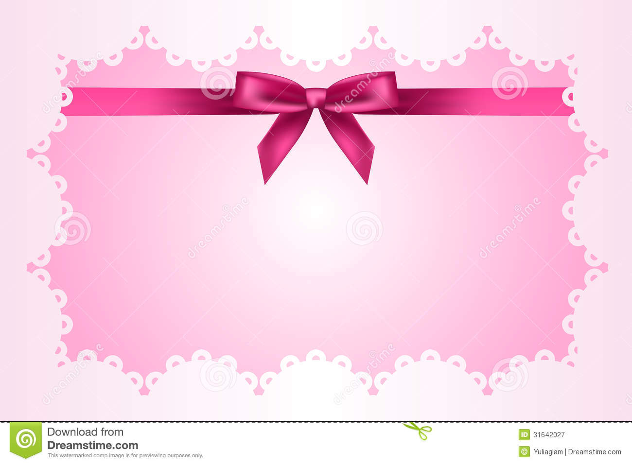 pink frame clipart baby pink frame with lace and