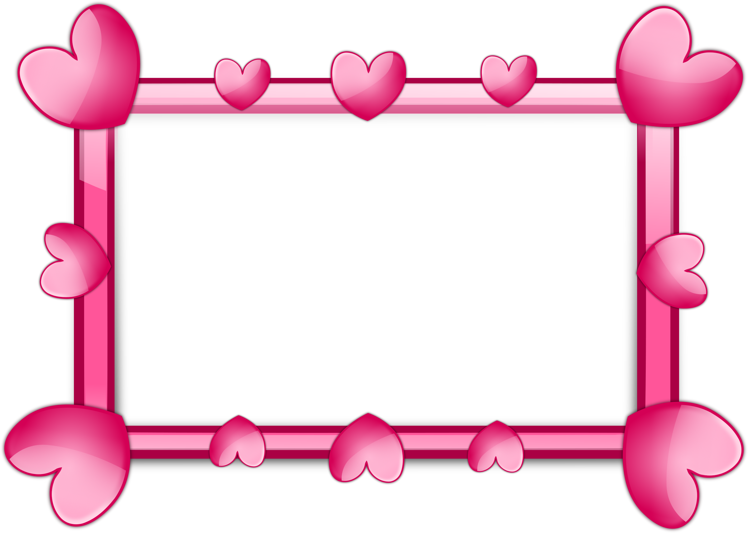 pink frame clipart clipart pink 2 frame