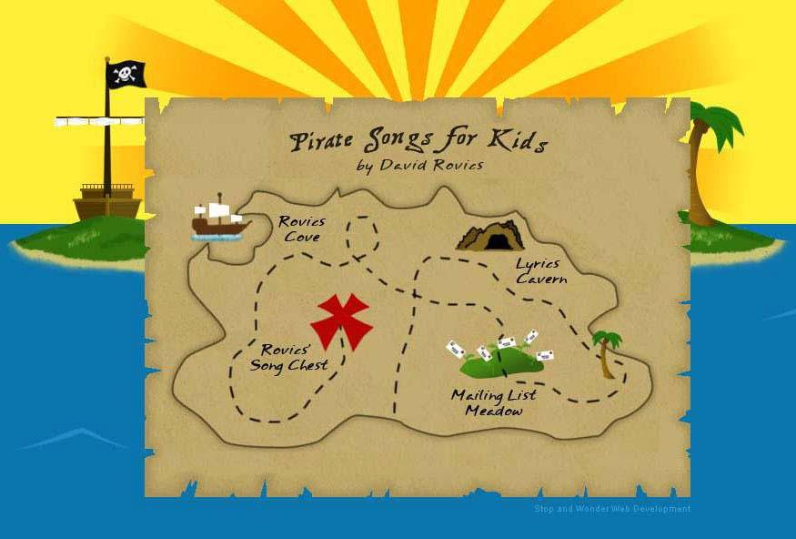 Как сделать карту пирата своими руками