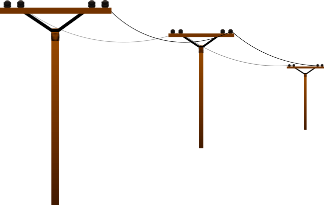 Power Lines Clipart - Clipart Kid