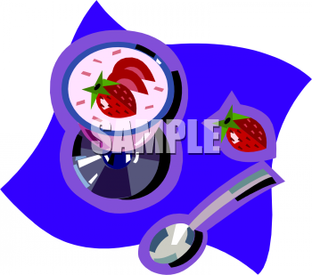 Pudding Cup Clipart
