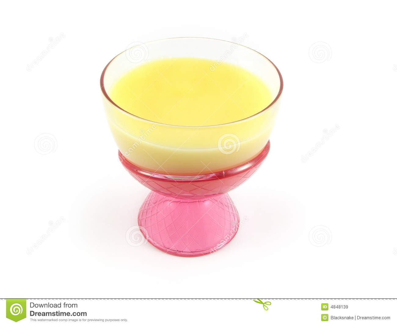 Pudding Dessert Cream Cup Royalty Free Stock Images   Image  4848139