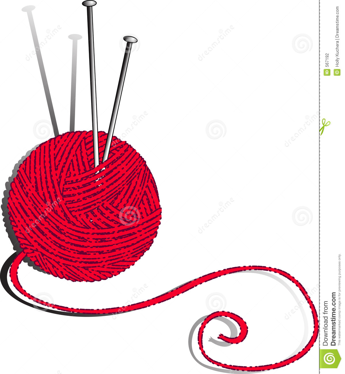 Knitting Needles Clip Art : Crochet needle clipart suggest
