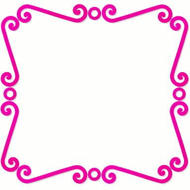 spiral frame pink blanks frames spiral frame spiral frame pink png