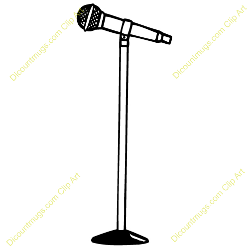 This Microphone Clip Art