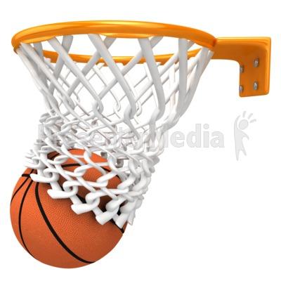Basketball Swish Clipart - Clipart Kid