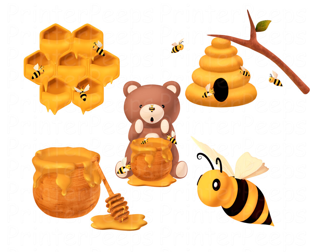 Honey Bee Stickers Honey Bee Sticker Designs - Clipart Kid