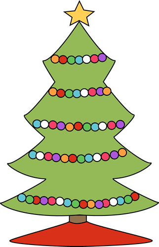 Cute christmas tree light clipart suggest