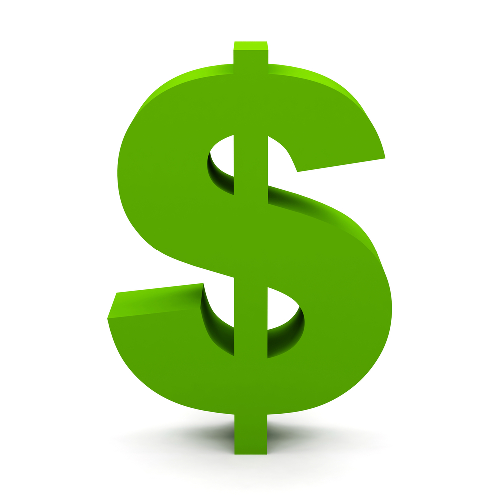 Green Dollar Sign Clip Art