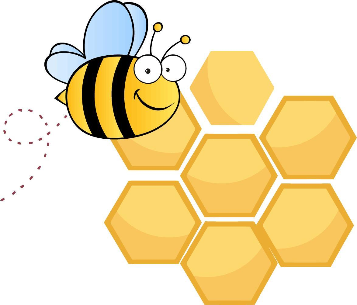 Beehive Honey Bee Clipart - Clipart Kid
