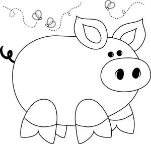 Pig Spit Clipart - Clipart Kid