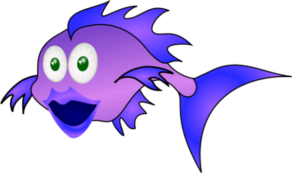 Purple Fish Clip Art – Cliparts