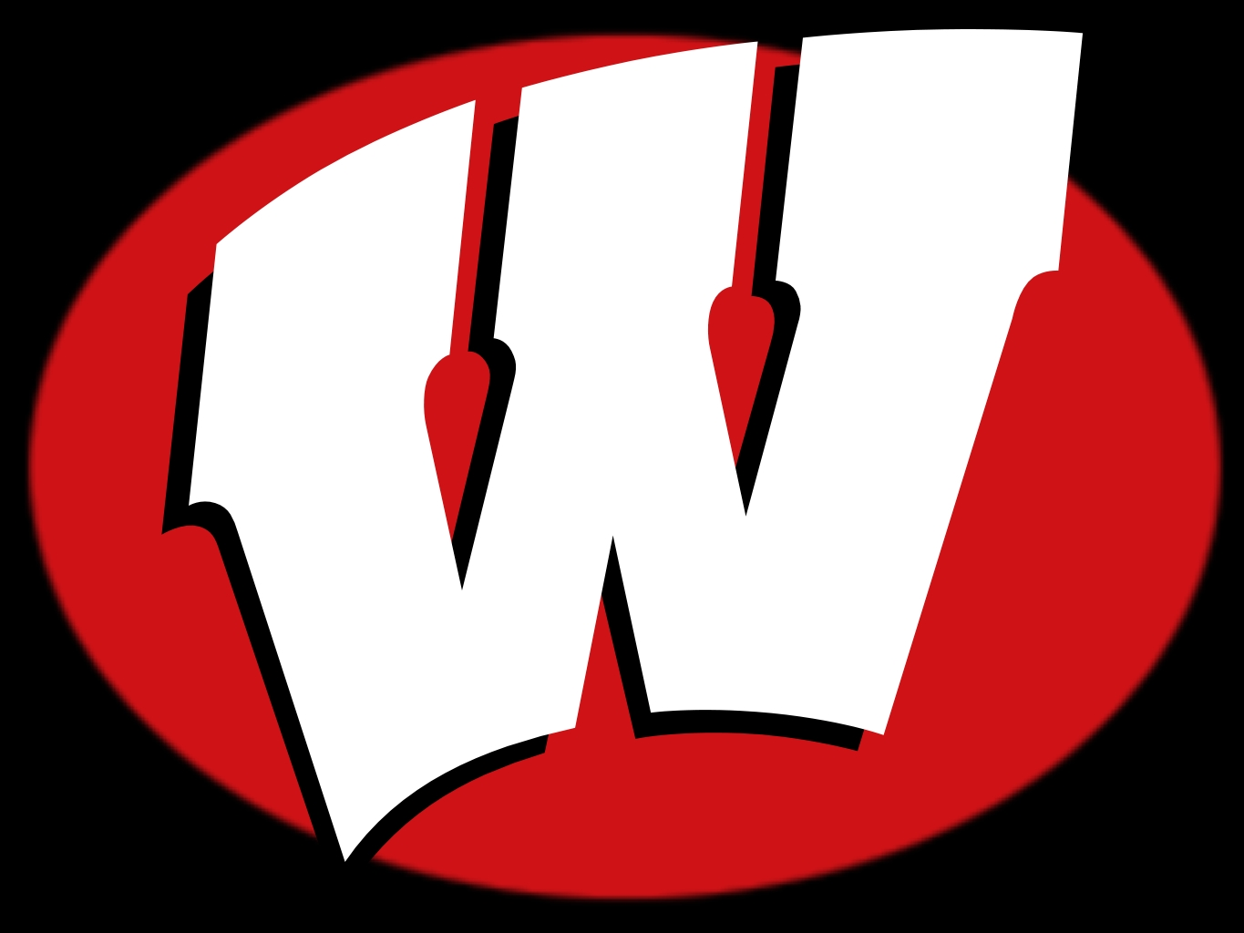 Wisconsin Badger Vector Logo Wisconsin Badgers Clipart