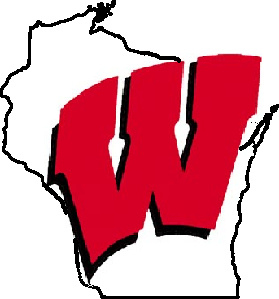 Wisconsin Badgers Outline Logo   University Of Wisconsin  Qu