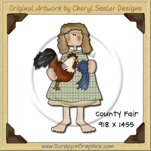 Country Fair Clipart County Fair Single Graphics