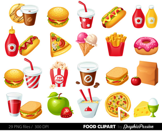 Favorite Food Clipart - Clipart Suggest