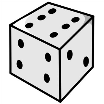 Free Dice Clipart   Free Clipart Graphics Images And Photos  Public