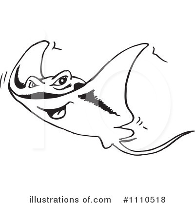 Royalty Free  Rf  Sting Ray Clipart Illustration  1110518 By Dennis