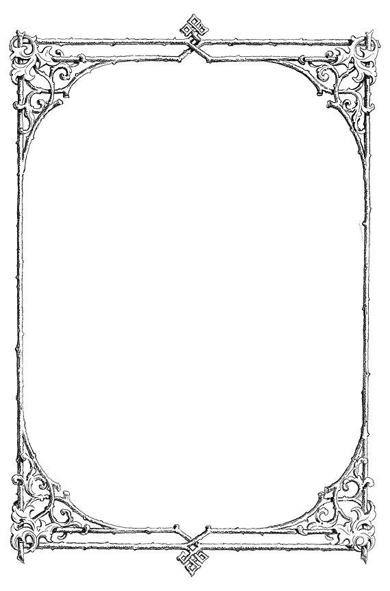 free victorian clip art frames - photo #30