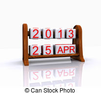 And Stock Art  112546 Date Illustration And Vector Eps Clipart