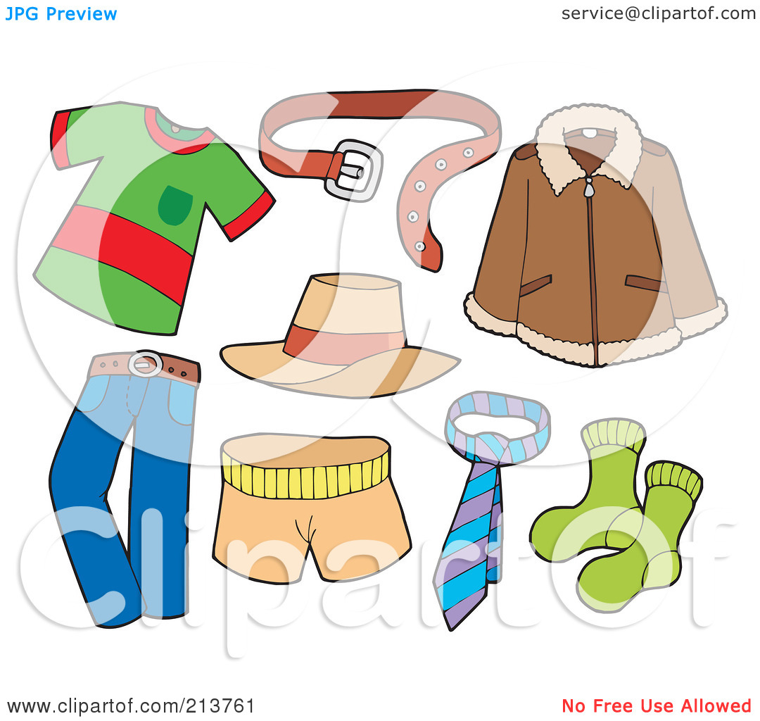 Fall Clothes Clipart - Clipart Kid