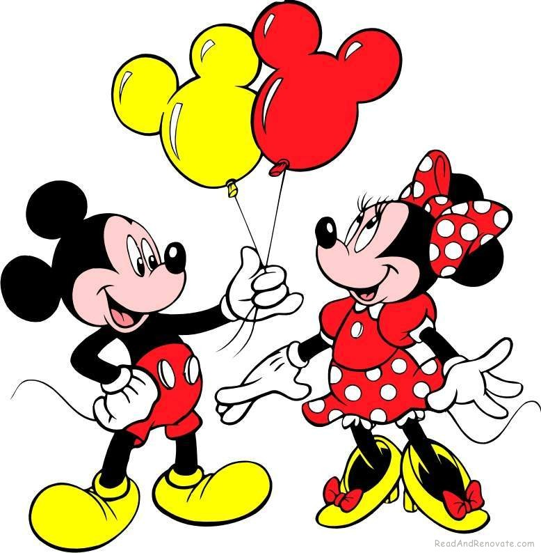 Minimouse Wallpaper: In Love Mickey Mouse Clipart