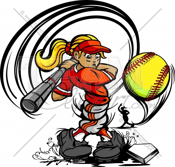 Girls Softball Team Clipart Images   Pictures   Becuo