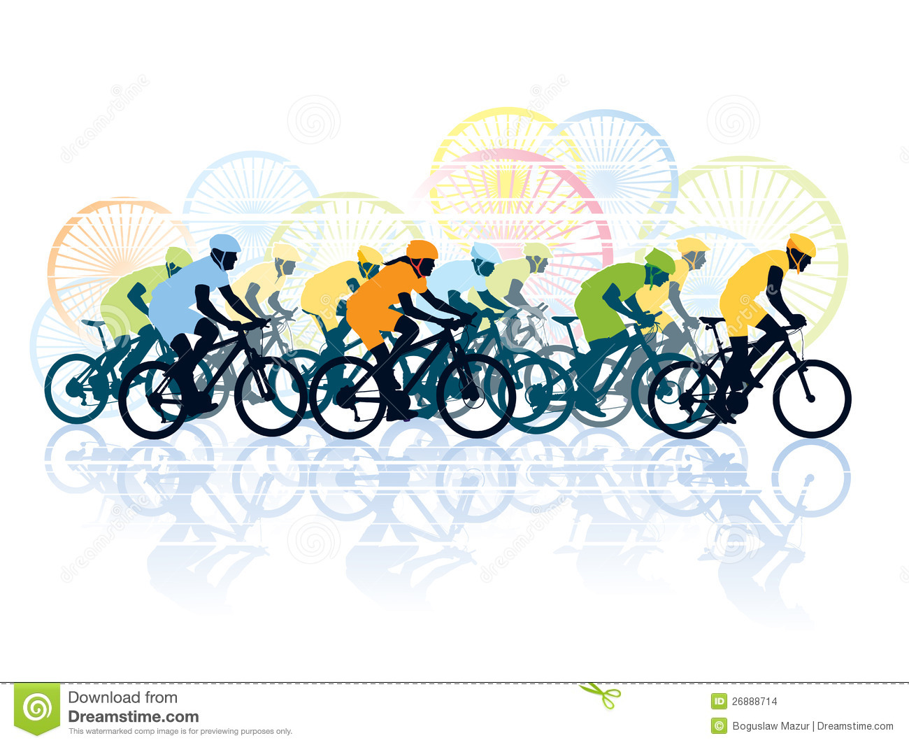 Bike Race Clipart - Clipart Kid