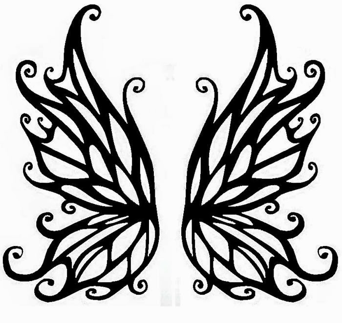 Gothic Wings Clipart - Clipart Kid