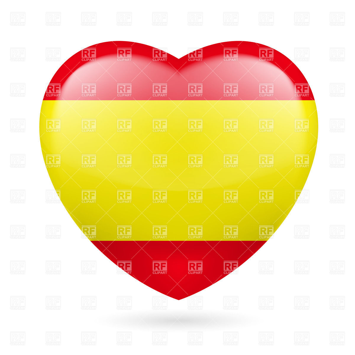 spanish flag clipart clipart suggest