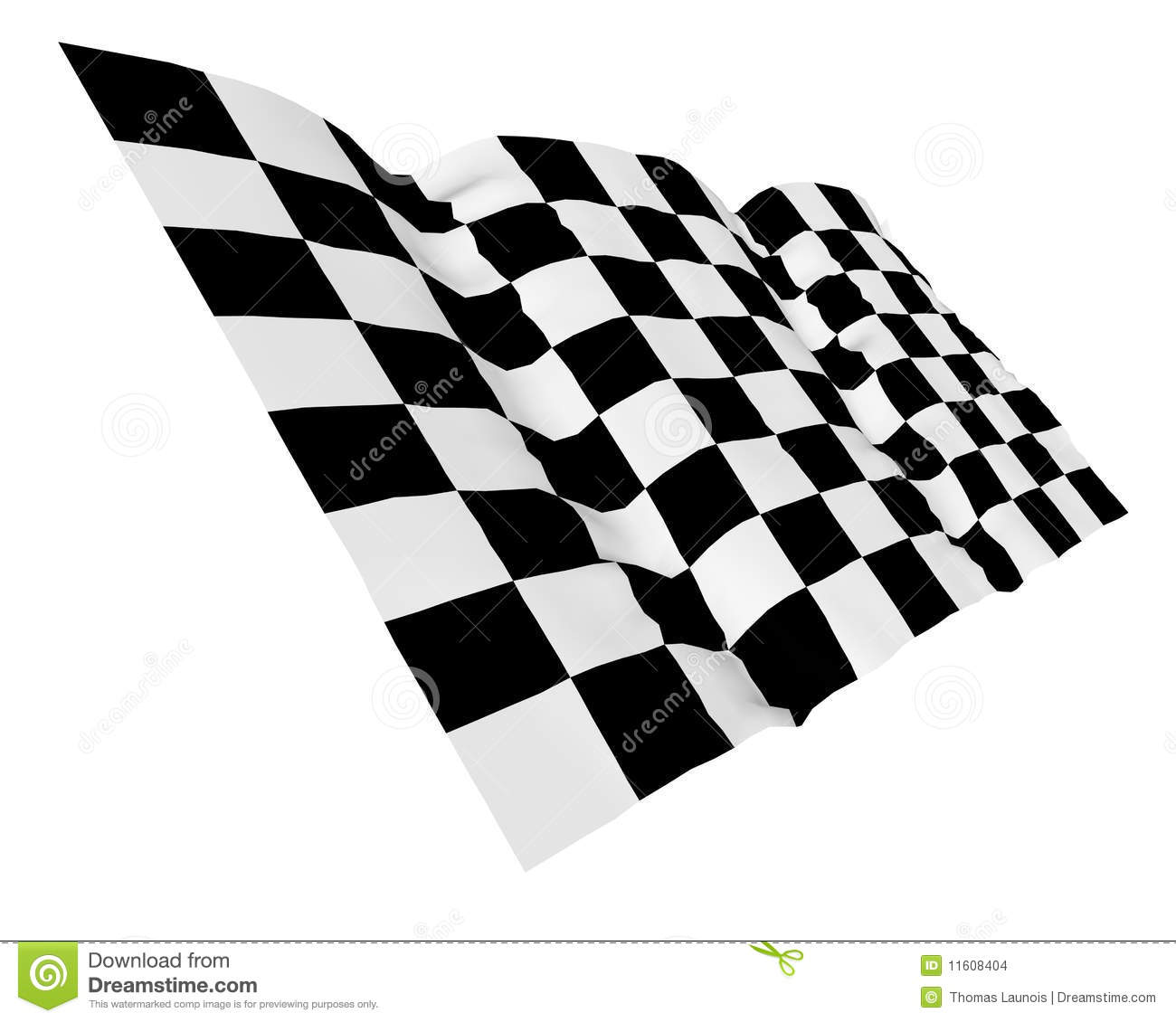 Start And Finish Flag Stock Images   Image  11608404