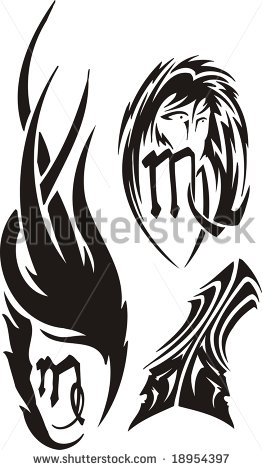Clipart  Vector Illustration Ready For Vinyl Cutting    Stock Vector