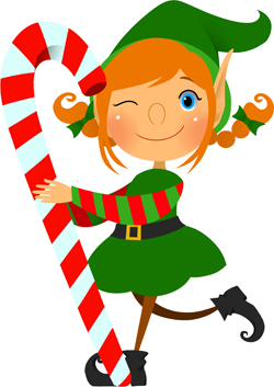 Girl Elf Clipart - Clipart Kid