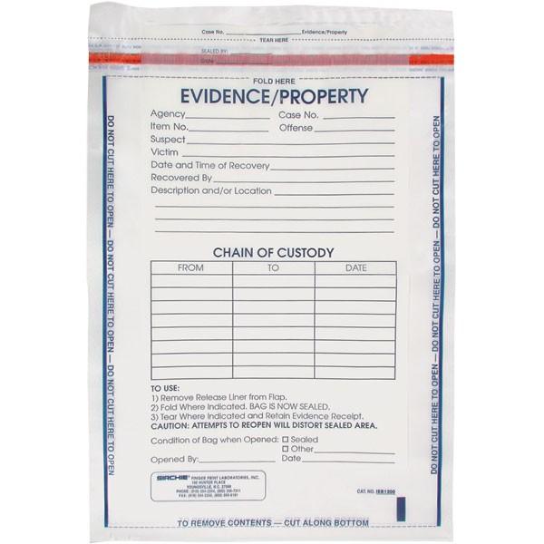 Evidence Bag Sirchie Integrity Evidence Bag #W15zOp - Clipart Kid