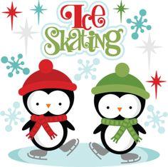 Ice Skating Penguin Clipart - Clipart Kid