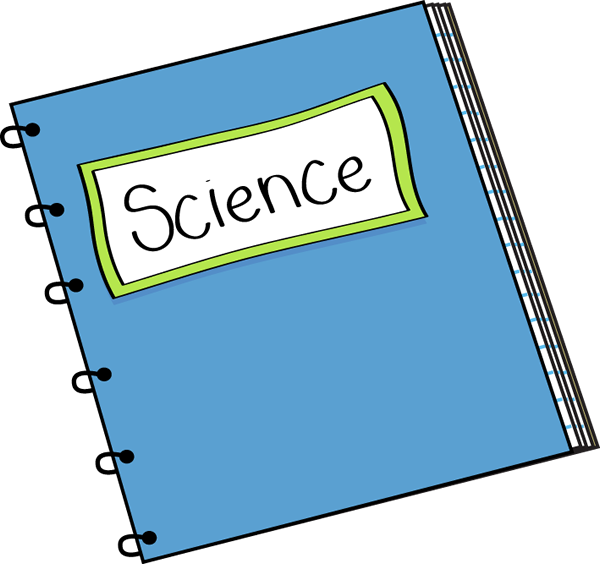 Science Notebook Clip Art   Science Notebook Vector Image