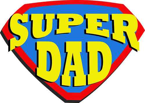 Superdad Or Fun Time Dad  Ask The Kids    Wondrous Ink