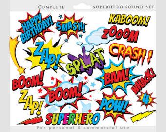 Comic Book Boom Clipart