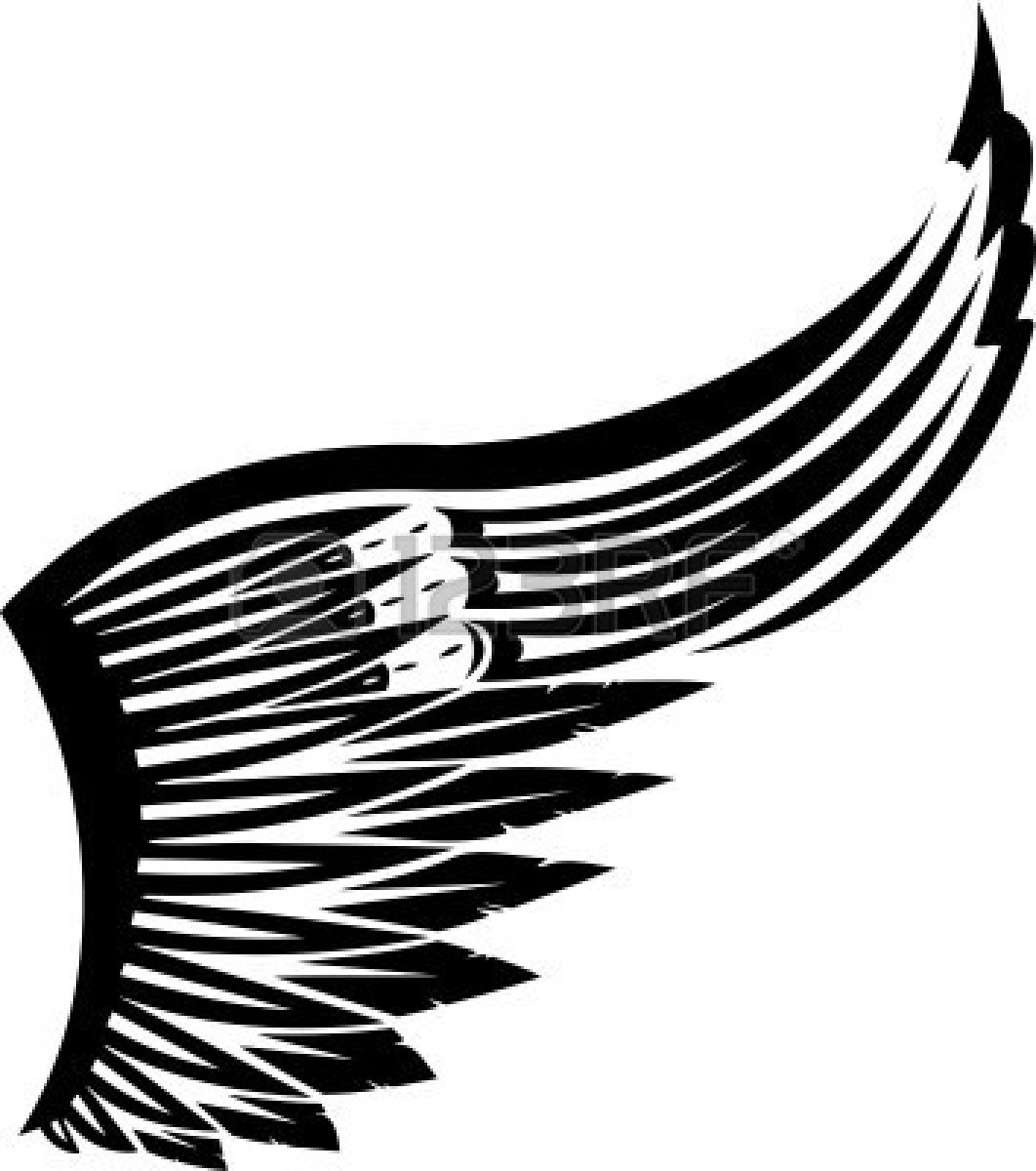 Vector 8777500 Wings Vector Illustration Ready For Vinyl Cutting