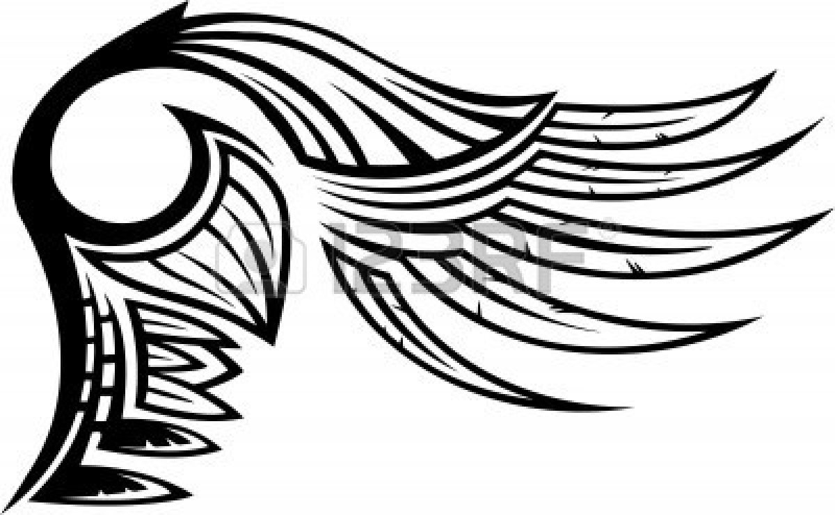 Vector 8777523 Wings Vector Illustration Ready For Vinyl Cutting