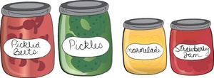 Canned Food Clipart Image