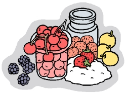 Home Canning Clip Art